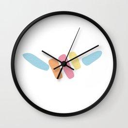 Shaka Hang Loose Abstract Hand Sign Wall Clock