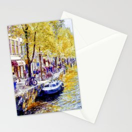 Amsterdam Canal Stationery Cards