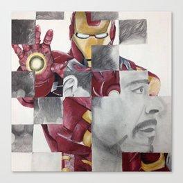 Iron Man/RDJ Canvas Print
