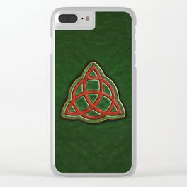 Book of Shadows Cover Clear iPhone Case