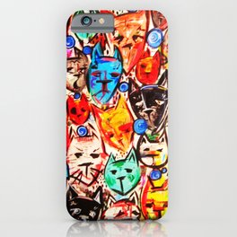 Kats on Parade iPhone Case