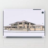 darwin iPad Cases featuring Darwin Martin House by Gas Station Burrito