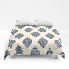 Navy Boho Style Comforters