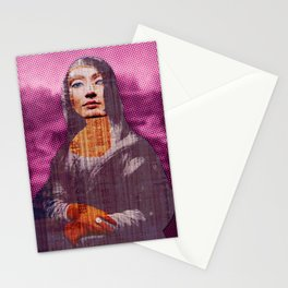 Nona Lifretéte in pink Stationery Cards