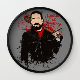 Lucille is coming Wall Clock