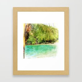 For A Brief Moment Framed Art Print