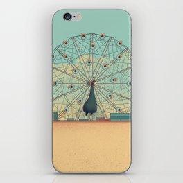 Urban Wildlife - Peacock iPhone Skin