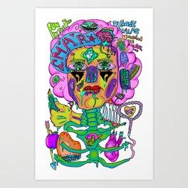 Repulsive Minds Art Print