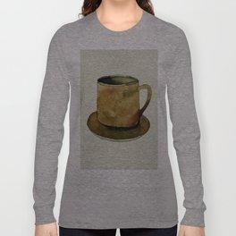 Mug on Plate Long Sleeve T-shirt