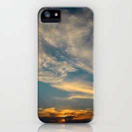 Sunset 032819 Caps, Texas iPhone Case