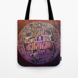 Atlante 10-06-16 / RETICULAR SURFACE Tote Bag
