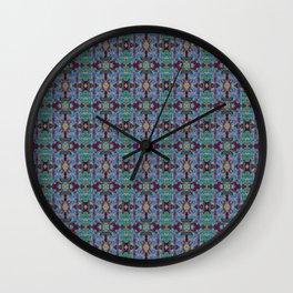 Overshot Pattern Wall Clock