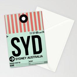 SYD Sydney Luggage Tag 1 Stationery Cards
