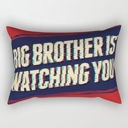 Big Brother is Watching You Rectangular Pillow