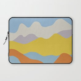 Over The Sunset Mountains V Laptop Sleeve