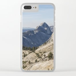 The Other Side of Half Dome Clear iPhone Case