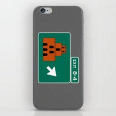 EXIT 8-4 iPhone & iPod Skin