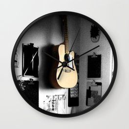 ART STUDIO - GUITAR Wall Clock