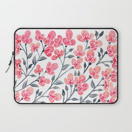 Cherry Blossoms – Pink & Black Palette Laptop Sleeve