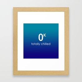Totally Chilled Framed Art Print