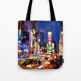 You Will Never Forget: Times Square, New York City Tote Bag