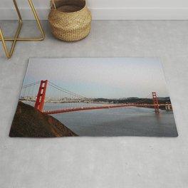 GOLDEN GATE BRIDGE - TWILIGHT - CALIFORNIA Rug