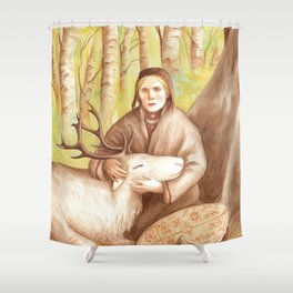 Rana ~ A Compendium Of Witches Shower Curtain