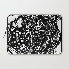 MadHatter Alice Wonderland in an upside down world of Laptop Sleeve