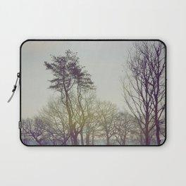 Trees and sunrise Laptop Sleeve