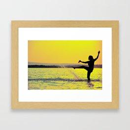 twisto Framed Art Print