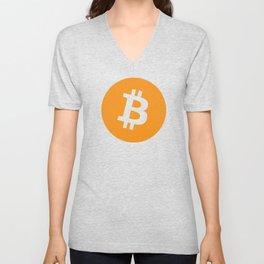 Bitcoin Unisex V-Neck