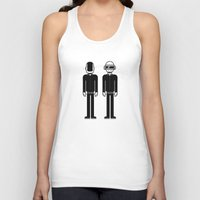 daft punk Tank Tops featuring Daft Punk by Band Land