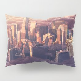 New York: Through The Roof Pillow Sham
