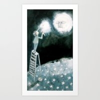 coldplay Art Prints featuring lights will guide you home... by meme