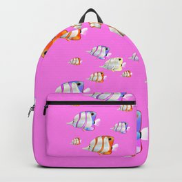 Tropical fish pink edition Backpack