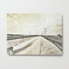Los Angeles River Metal Print