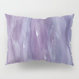 Touching Purple Blue Watercolor Abstract #1 #painting #decor #art #society6 Pillow Sham