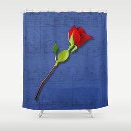Sount of Love/Lied der Liebe Shower Curtain