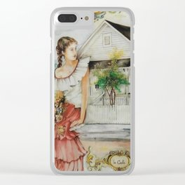 """Casa Latina "" Clear iPhone Case"