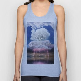 Spring Storm Clouds Unisex Tank Top