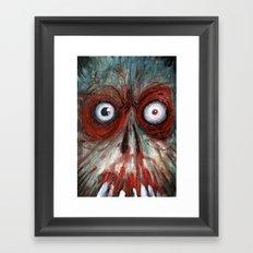 the fear Framed Art Print