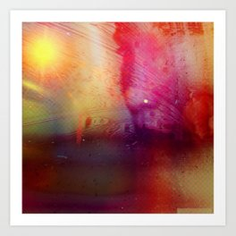 Disintegration (Falling Apart) Art Print