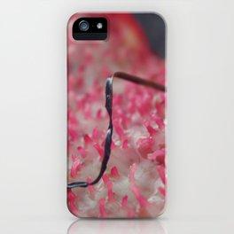 pink algae iPhone Case