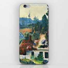 George Wesley Bellows - The Red Vine, Matinicus Island, Maine - Digital Remastered Edition iPhone Skin