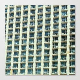 Tel Aviv - Crown plaza hotel Pattern Canvas Print