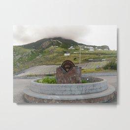 Mt. Scenery Metal Print
