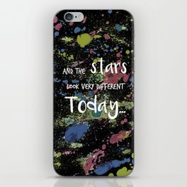 And the Stars look very Different today... iPhone Skin
