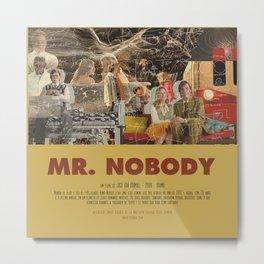 Mr. Nobody - Jaco Van Dormael Metal Print
