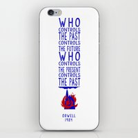 1984 iPhone & iPod Skins featuring Orwell 1984 by alphaville