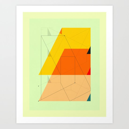 DELINEATION (104) Art Print